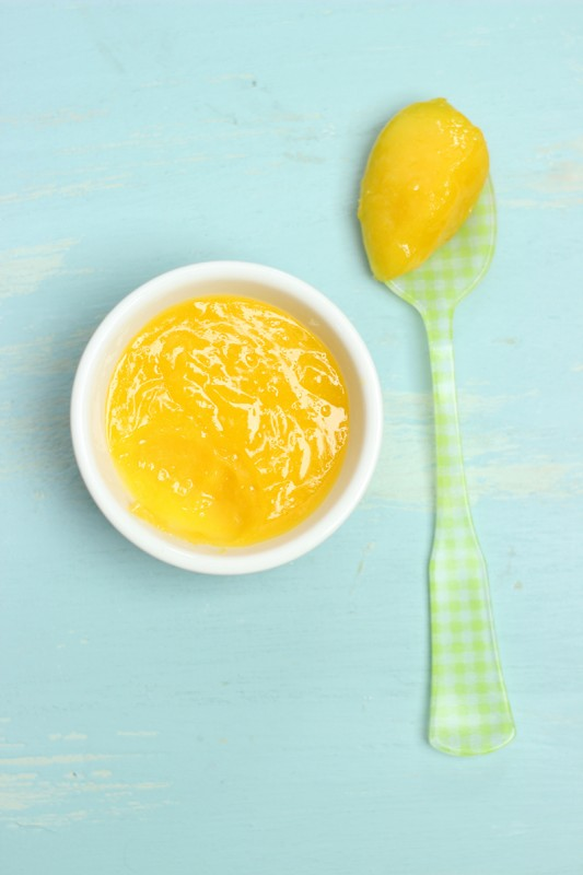 healthy dairy free lemon curd